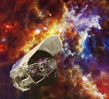 The ESA's Herschel infrared space observatory