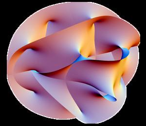 A Calabi–Yau manifold