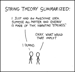 Physicists have a sense of humour too you know...