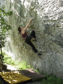 A Miller's Tale (V4/Font 6b+) - Rubicon Wall, Derbyshire, England