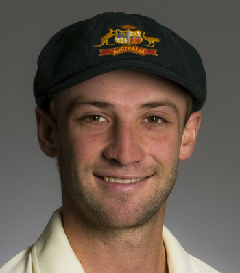 Phillip Hughes of Australia, New South Wales and Middlesex