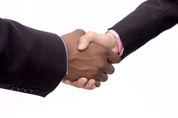 In information technology, telecommunications, and related fields, handshaking is an automated process of negotiation that dynamically sets parameters of a communications channel established between two entities before normal communication over the channel begins. It follows the physical establishment of the channel and precedes normal information transfer.