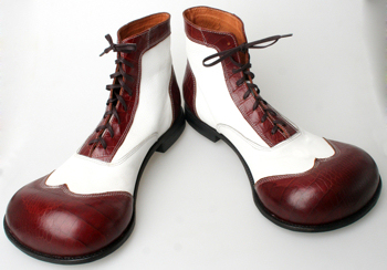 Recommended footwear for presenters