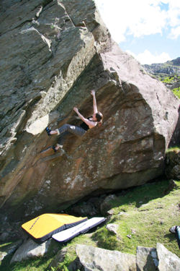 Boysen's Groove (V3/4) Dinas Mot, North Wales