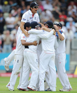 The moment England's Test Cricket team became the best in the world