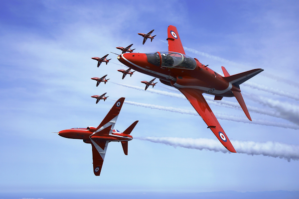 The Red Arrows [see Acknowledgements for Image Credit]