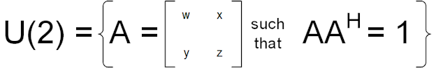U(2) definition complex