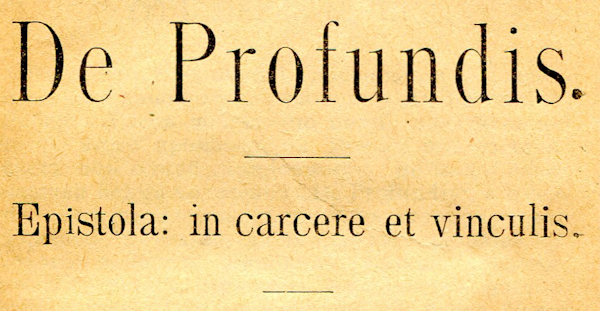 De profundis [See Acknowledgements for Image Credits]