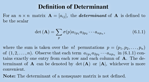 Determinant definition [see Acknowledgements for Image Credit]