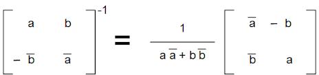 SU(2) Inverses I