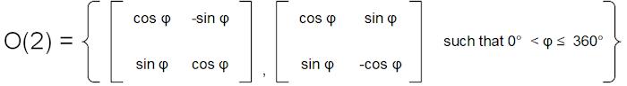O(2) definition II