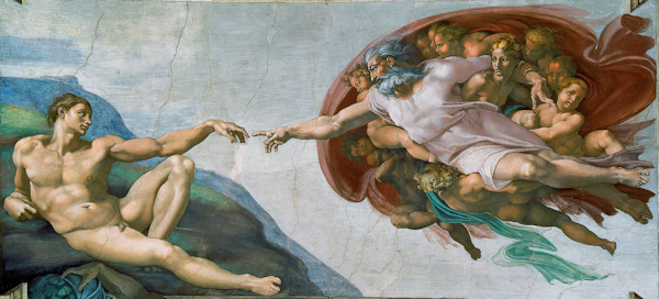 The Creation of Adam [see Acknowledgements for Image Credit]
