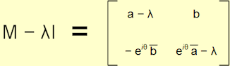 Unitary eigenvectors