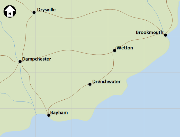 Coastal Map 1